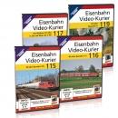 Eisenbahn Video-Kurier 115, 116, 117,119