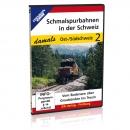 DVD - Schmalspurbahnen in der Schweiz - damals