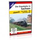 DVD - Die Eisenbahn in Sachsen - damals