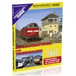 DB-Lokomotiven und  Triebwagen 2002