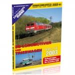 DB Lokomotiven und Triebwagen 2003