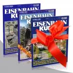"Eisenbahn-Kurier ""Schnuppergeschenk"""