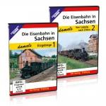 DVD- Paket: Die Eisenbahn in Sachsen - damals