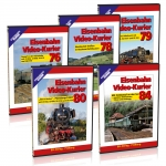 "DVD - Jubiläumspaket 1 ""Eisenbahn Video-Kurier"""