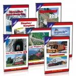 DVD - Sparpaket Schweizer Alpenbahnen