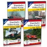 Eisenbahn Video-Kurier 120-123