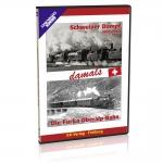 DVD - Paket - Schweizer  Dampf / Furka-Oberalp-Bahn damals