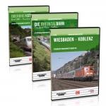 """DVD - Sparpaket """"Führerstandsmitfahrten am Rhein entlang"""""""