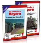 DVD-Paket - Die Eisenbahn in Bayern damals - Teil 1 + 2