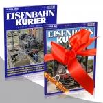 "Geschenkabonnement ""Eisenbahn-Kurier"""