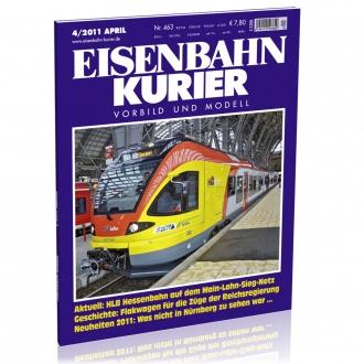 Eisenbahn-Kurier 4/2011