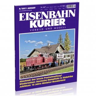 Eisenbahn-Kurier 8/2011