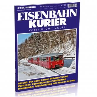 Eisenbahn-Kurier 2/2013