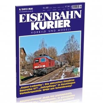 Eisenbahn-Kurier 5/2013