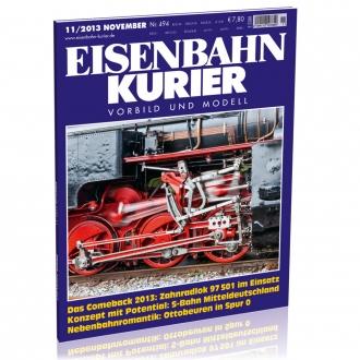 Eisenbahn-Kurier 11/2013