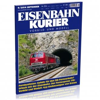 Eisenbahn-Kurier 9/2014