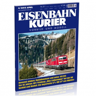 Eisenbahn-Kurier 4/2015