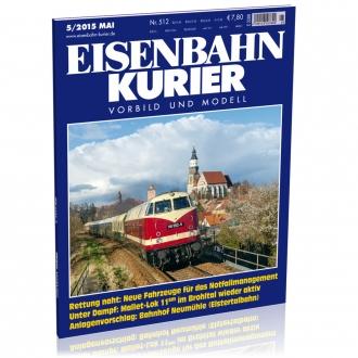 Eisenbahn-Kurier 5/2015