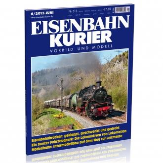 Eisenbahn-Kurier 6/2015