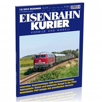 Eisenbahn-Kurier 12/2015