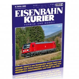 Eisenbahn-Kurier 6/2016