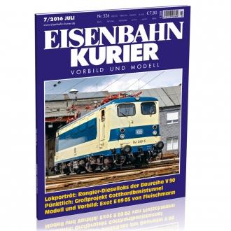 Eisenbahn-Kurier 7/2016