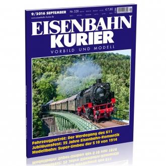 Eisenbahn-Kurier 9/2016