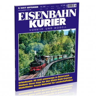 Eisenbahn-Kurier 9/2017