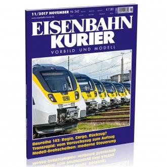 Eisenbahn-Kurier 11/2017