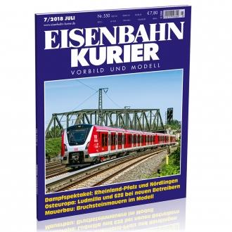 Eisenbahn-Kurier 7/2018