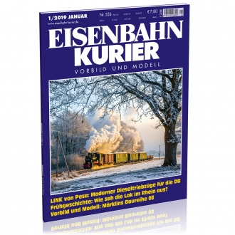 Eisenbahn-Kurier 1/2019