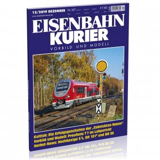 Eisenbahn-Kurier 12/2019