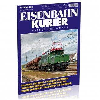Eisenbahn-Kurier 7/2021