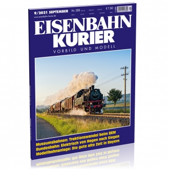 Eisenbahn-Kurier 9/2021