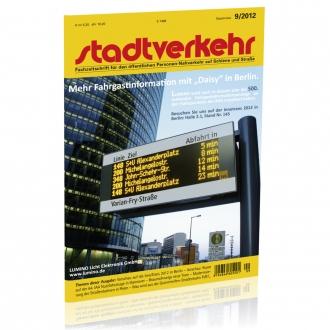 Stadtverkehr 9/2012