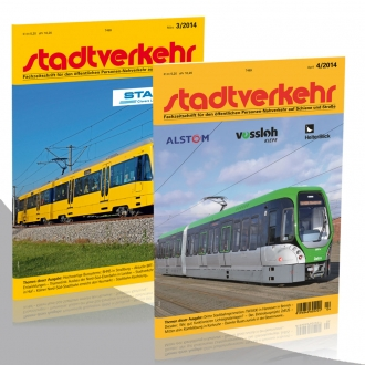 Stadtverkehr Jahresabonnement Doppeldeckerbus MAN