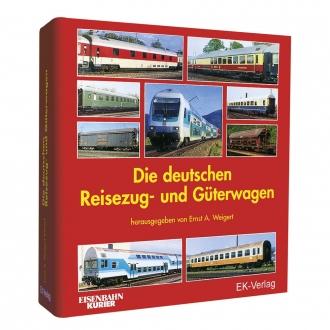 """Leerordner """"Die deutschen Reisezug- und Güterwagen"""""""