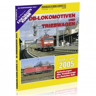 DB-Lokomotiven und Triebwagen 2005