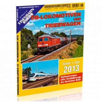 DB-Lokomotiven und Triebwagen 2013