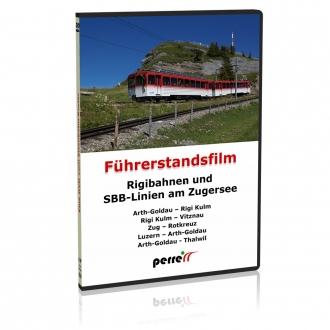 Blu-Ray - Rigibahnen und SBB-Linien am Zugersee