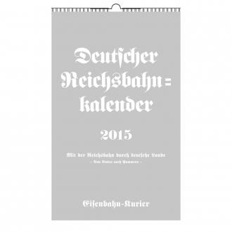 Reichsbahn-Kalender 2015