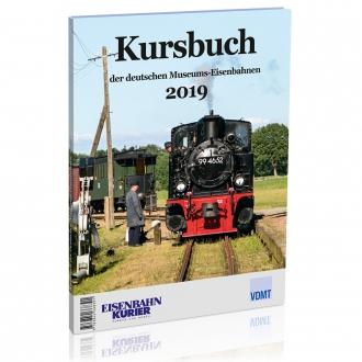 Kursbuch der deutschen Museums-Eisenbahnen - 2019