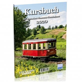 Kursbuch der deutschen Museums-Eisenbahnen - 2020