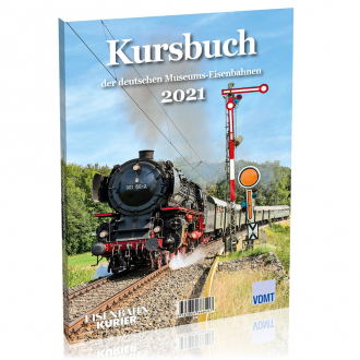Kursbuch der deutschen Museumseisenbahnen - 2021