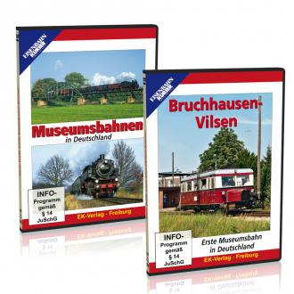 Museumsbahnen im 2er Paket