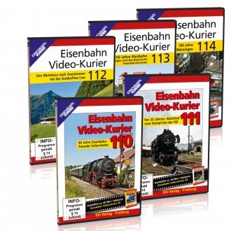 Eisenbahn Video-Kurier 110-113