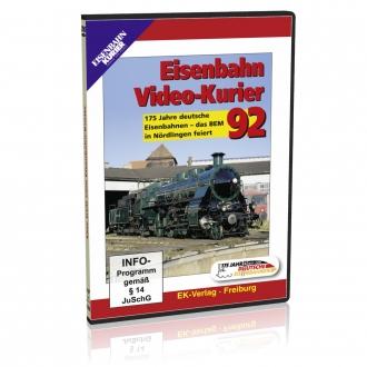 DVD - Eisenbahn Video-Kurier 92