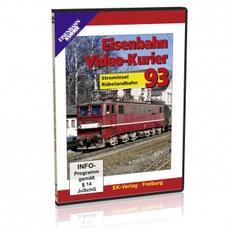 DVD - Eisenbahn Video-Kurier 93