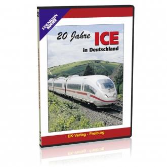 DVD - 20 Jahre ICE in Deutschland