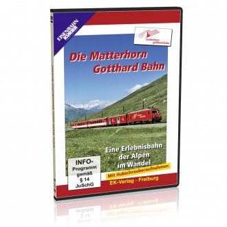 DVD - Die Matterhorn Gotthard Bahn